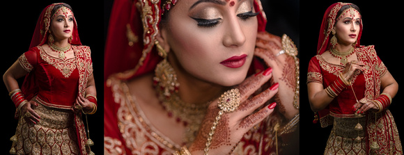 Asian Wedding Photography London Bride